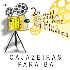 Em CAJAZEIRAS: II Festival Brasileiro de Cinema Espirita e Espiritualista. De 31/ago. a 01/set.