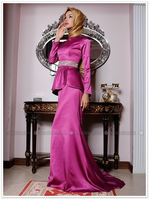 Pınar Akşam 2014 Yeni Sezon Kapalı Elbise Modelleri