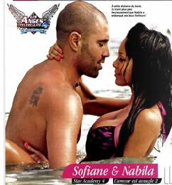 Le mag des Anges 4 ,presse et potins - Page 2 Sofiane+nabila