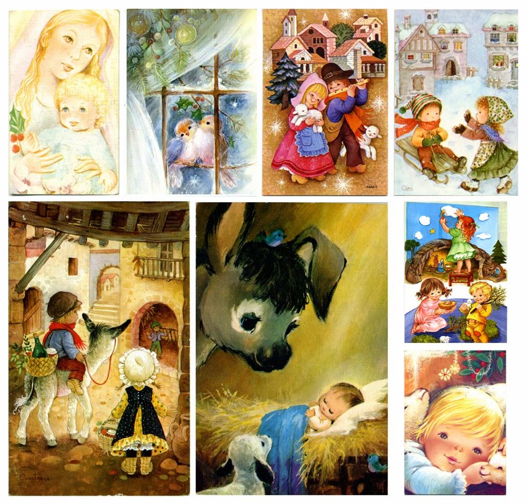 Cucatraca postales de navidad mucho m s que un recuerdo - Postal navidena infantil ...