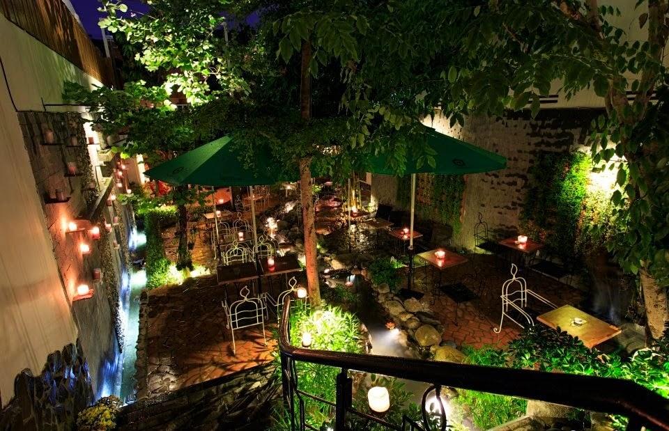 Quán Cafe nến ở Trần Huy Liệu, Phú Nhuận, Sài Gòn