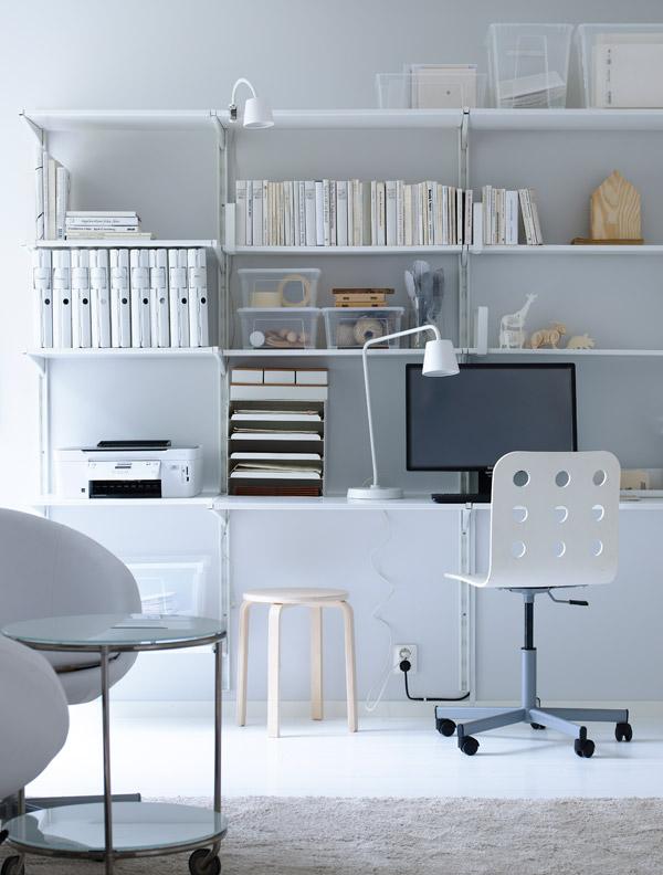 It 39 s time to move ikea home for Ikea accessoires bureau