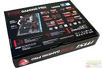 Kardus MSI B150A Gaming PRO (Tampak Belakang)