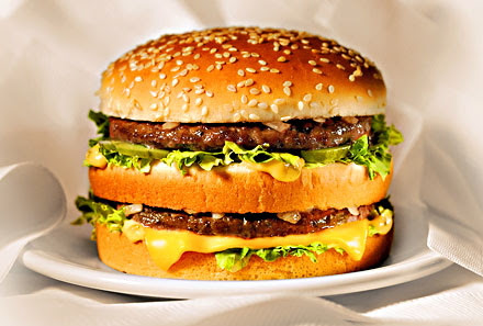 big mac hamburger