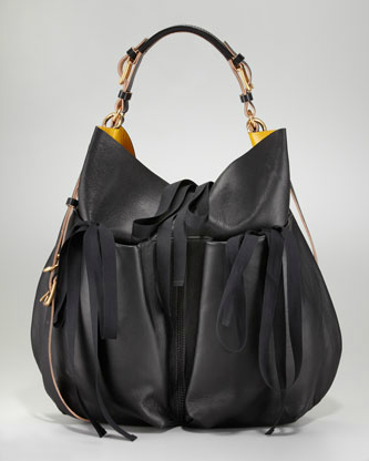 Marni Lambskin Shoulder Bag