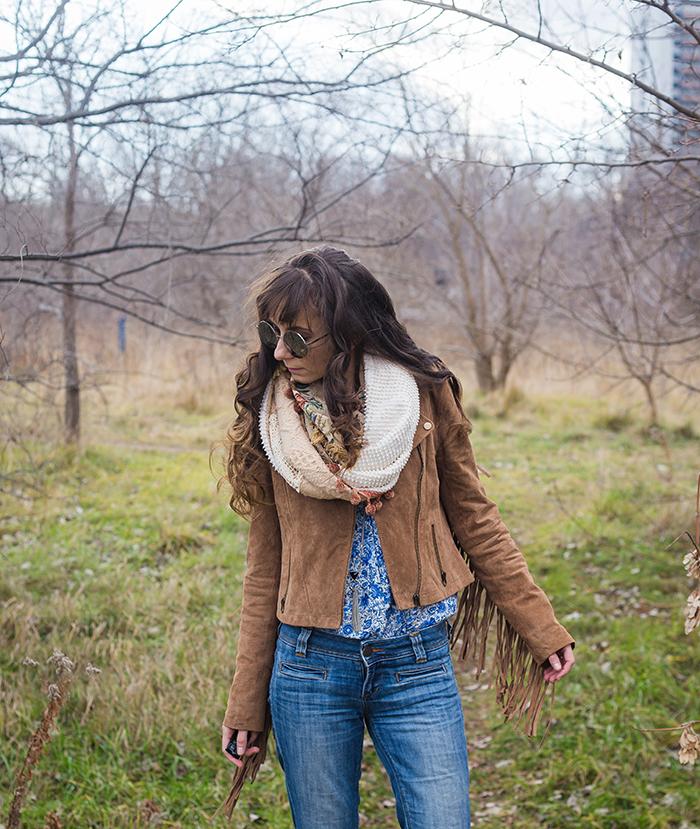 Fringe-Suede-jacket-Tapestry-scarf-Lyst