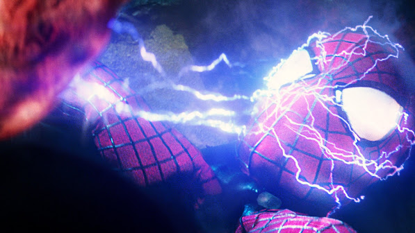 Electro vs Spider Man 1n