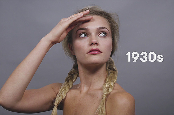 100 years of German beauty 1930