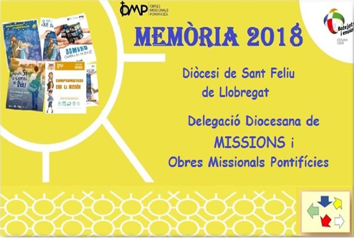 Memória Missions Sant Feliu 2018