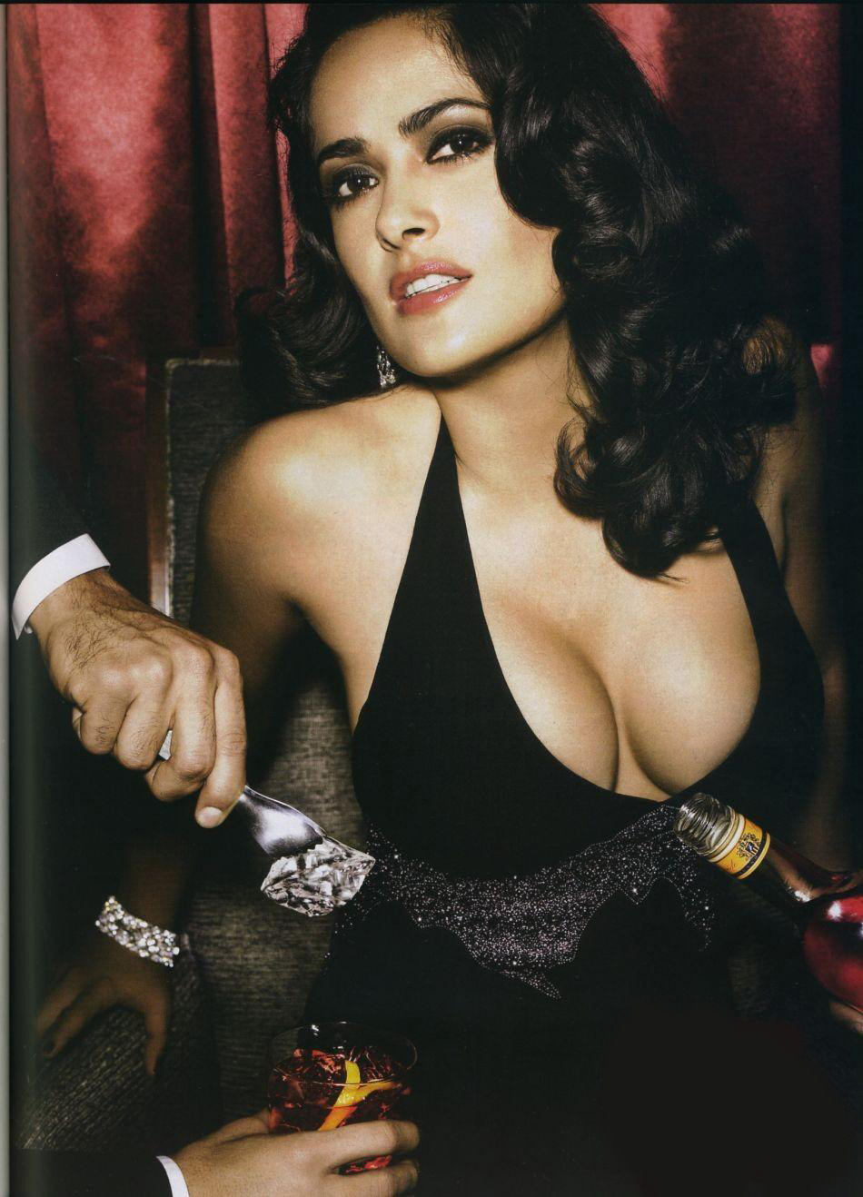 With you Actress salma hayek think, that