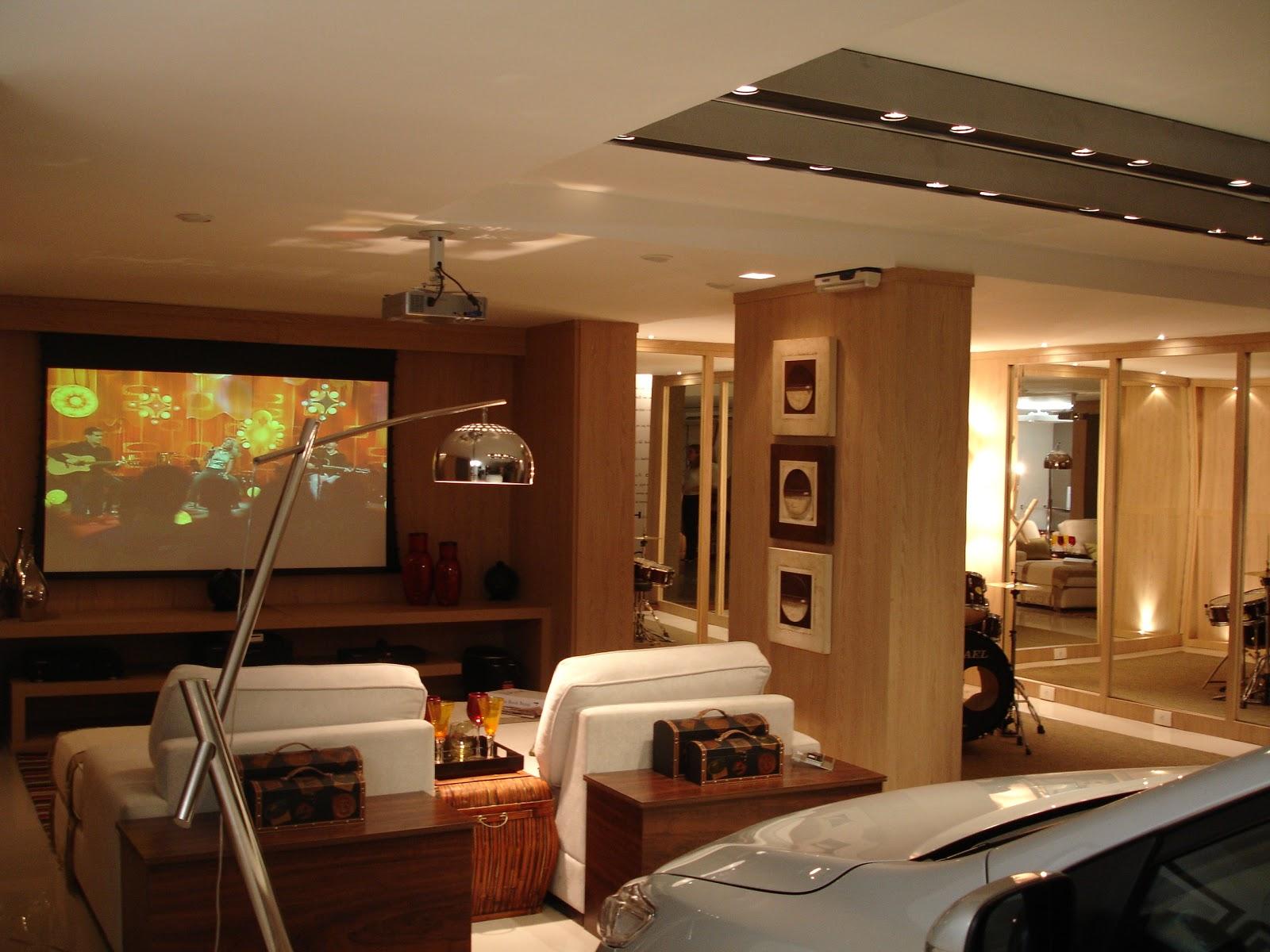 Decor luxo Salas de TV  Como vivem os Milionários