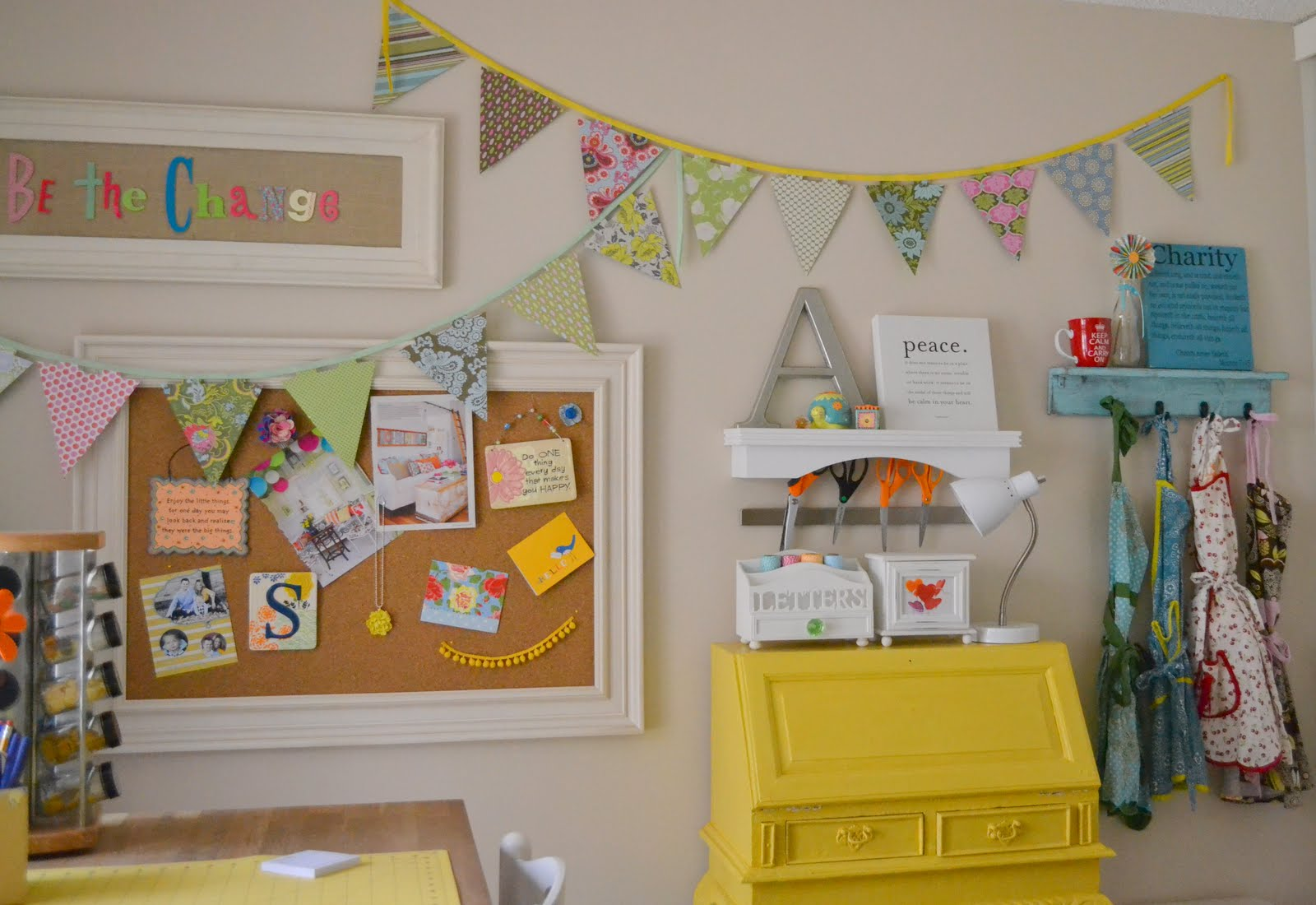 Whimsical craft room decor best of nest little miss momma for Whimsical decor