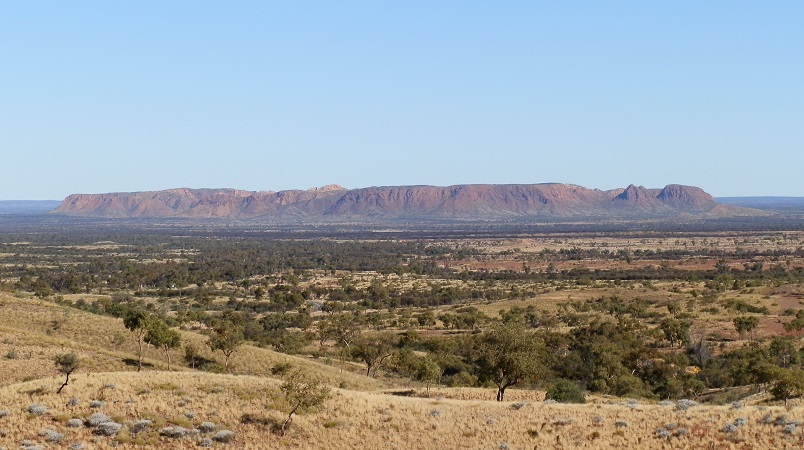 Gosse Bluff from Tylers Pass, West MacDonnell Ranges