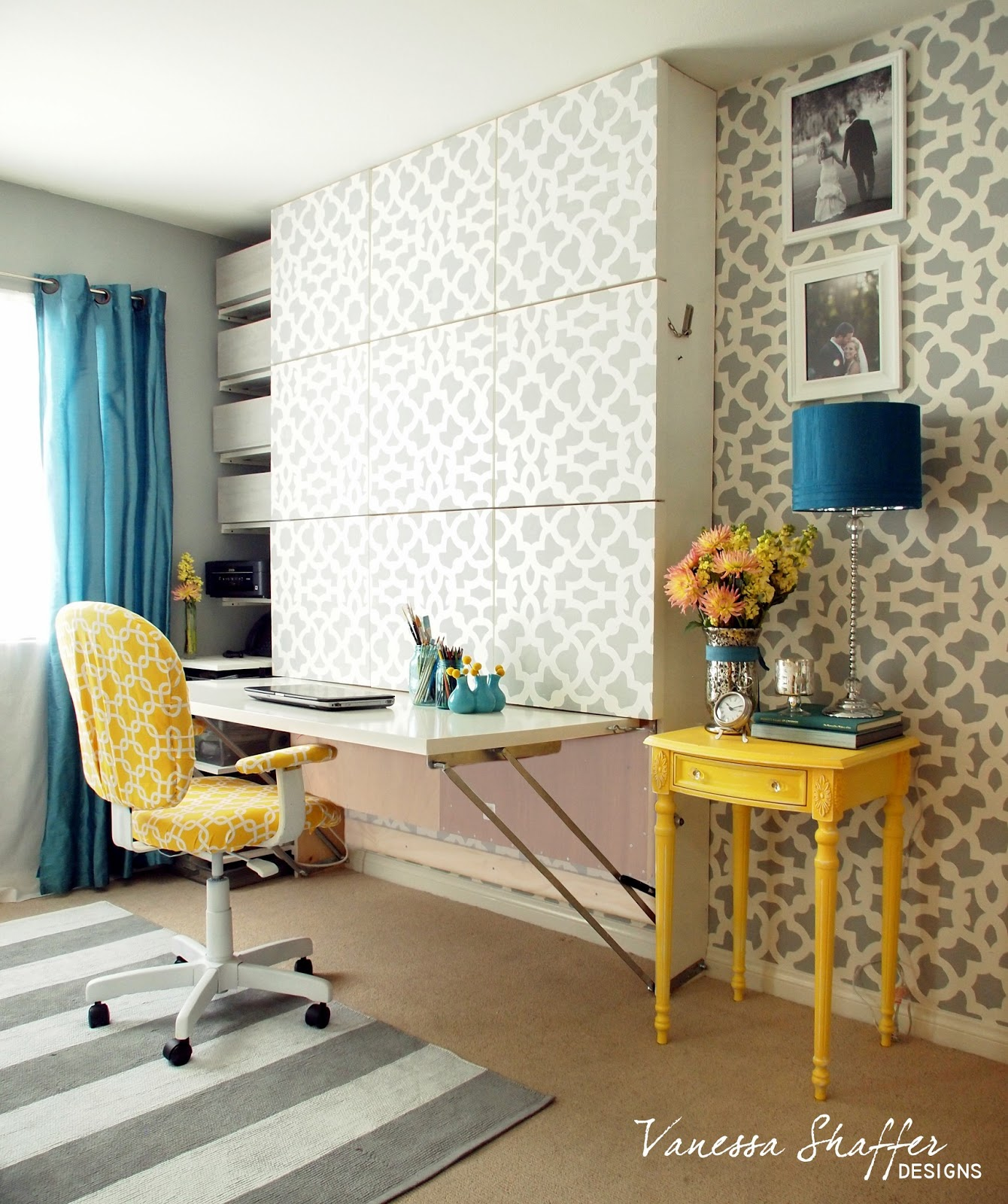 Small Space Solution: The Murphy Bed/Desk