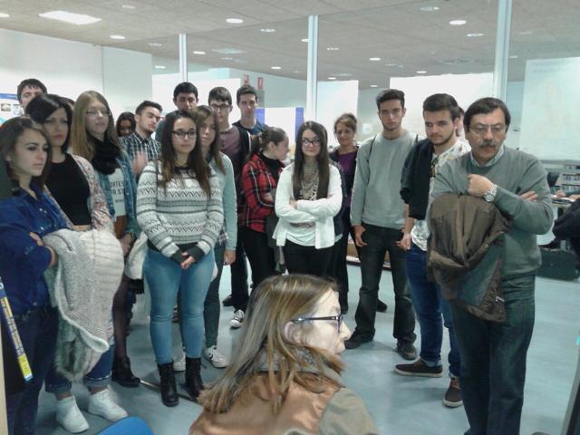 Visitas guiadas a la Universidad de Murcia 2015.