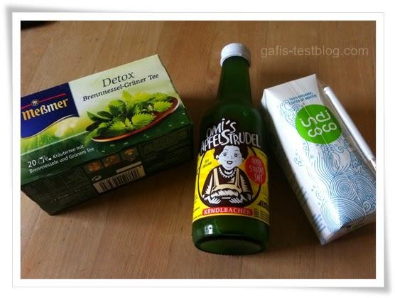 Meßmer Detox Brennessel Grüner Tee, Omi's Apfelstrudel, indi coco