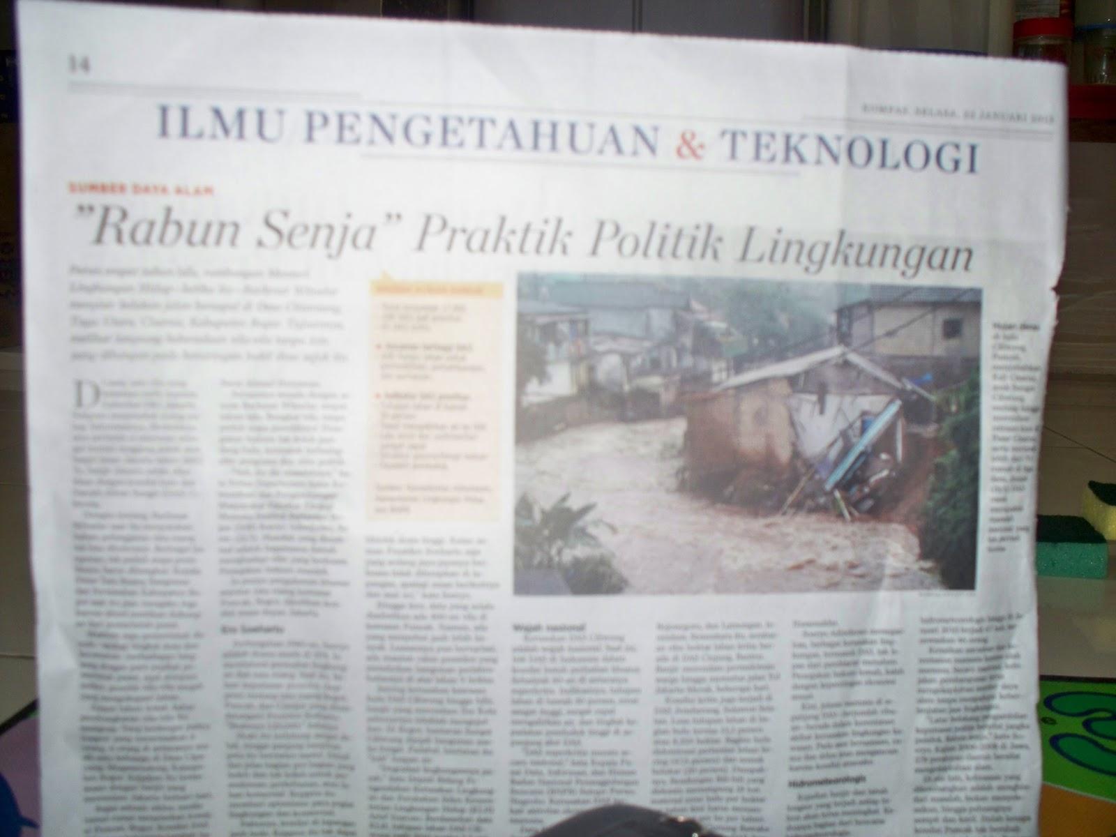 Surat Kabar Terbitan Hari Ini Jadi Media Pembelajaran Esok Hari Sofyanto
