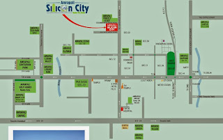 Amrapali Silicon City :: Location Map