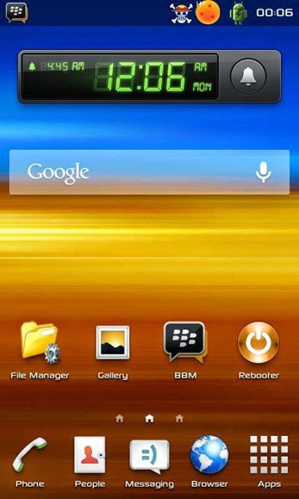 Custom Rom Xperia Samson ( Samsung Sony ) for Evercoss A7A