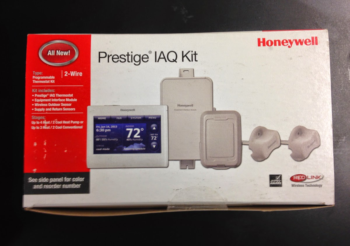 The fix it blog sorting things out installing the honeywell honeywell prestige 20 iaq kit with eim outdoor wireless temperature and humidity sensor and duct temperature sensors asfbconference2016 Image collections