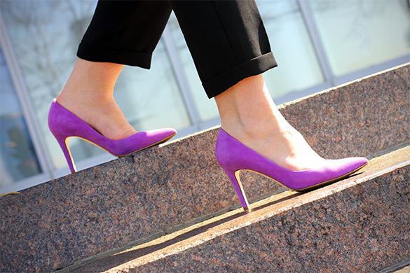 J.Crew everly suede pumps