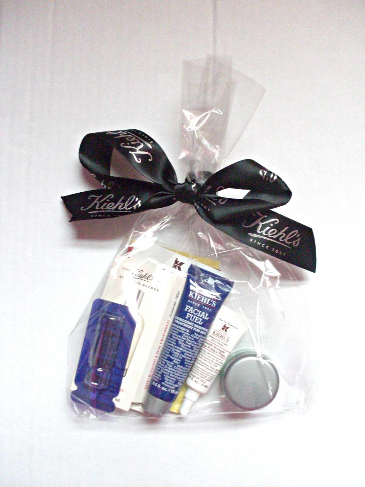 Kiehls goody bag