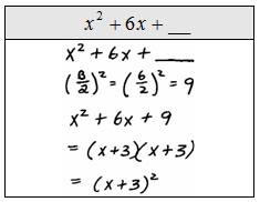 Section 5.5 Completing The Square - Lessons - Tes Teach