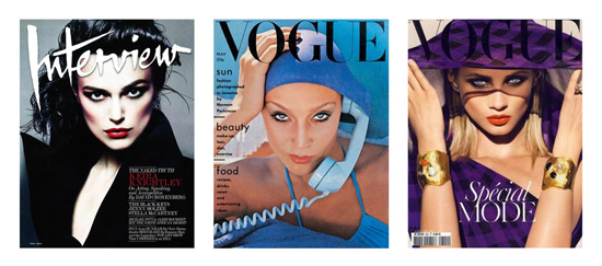 Eye contact magazine covers