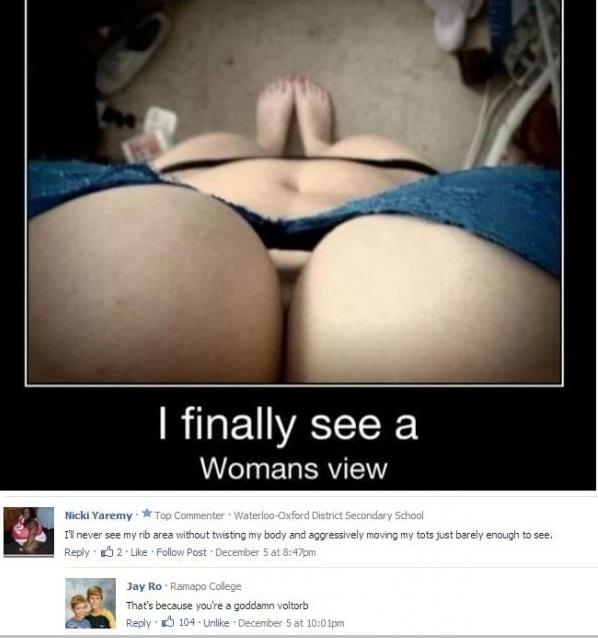 Finally A Woman VIEW!