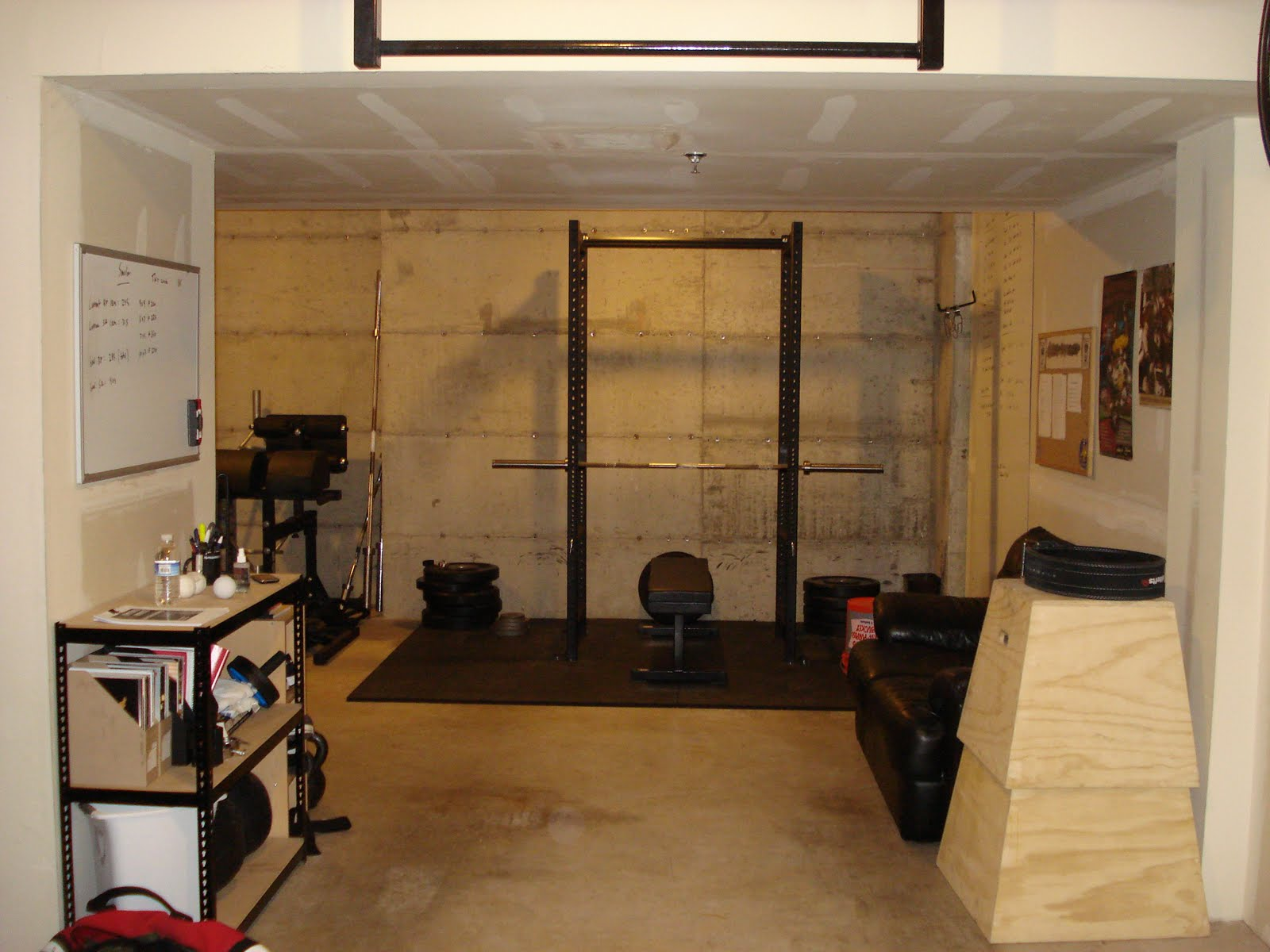 Travis s garage gym crossfit discussion board