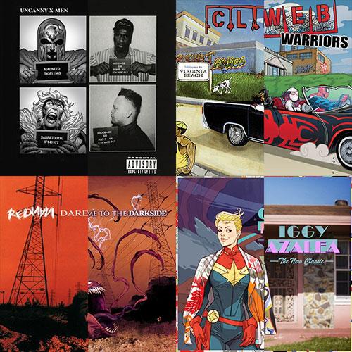 MARVEL lança Gifs de álbum de Iggy Azalea,Clipse, Redman & Geto Boys