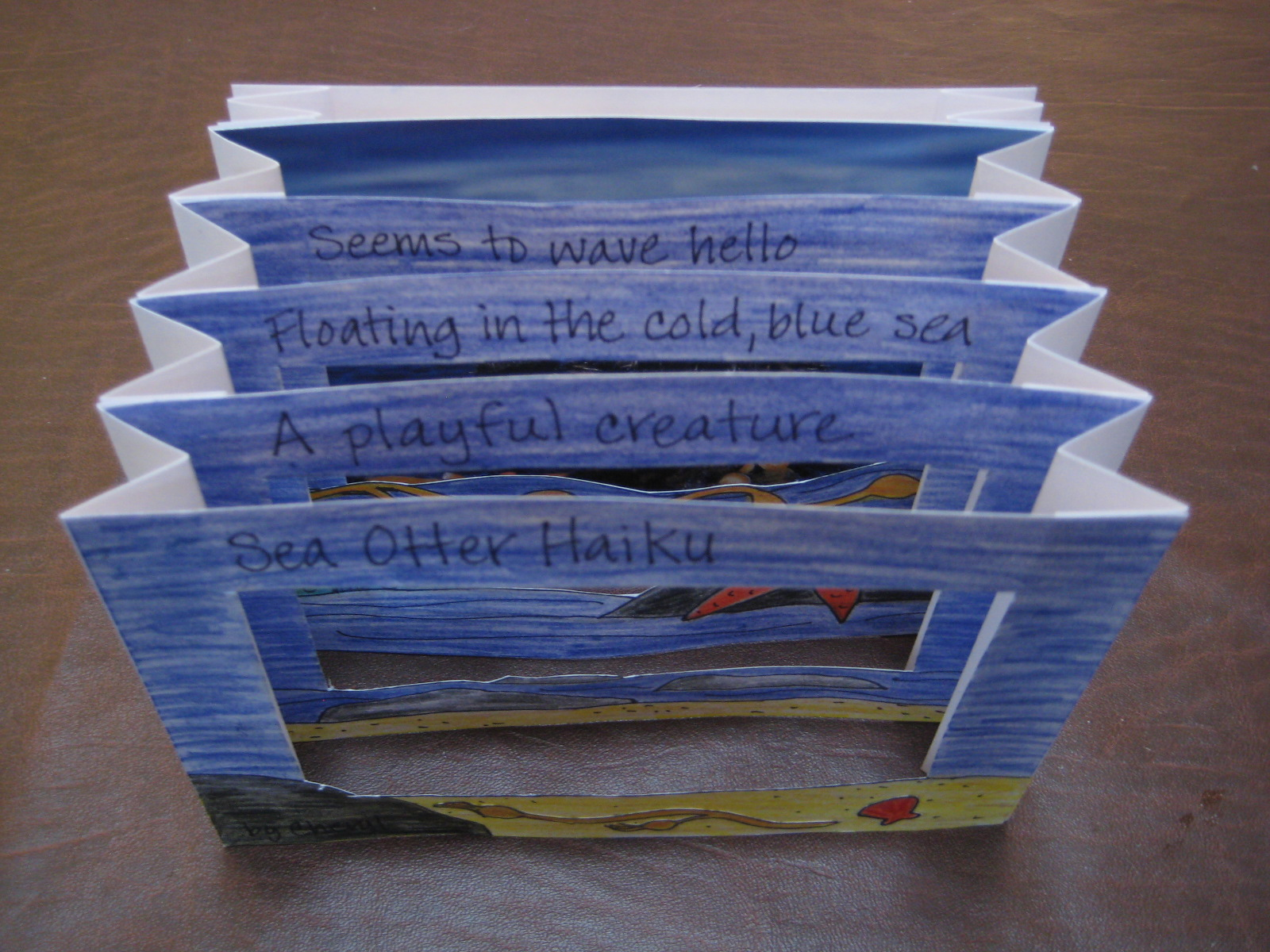 haiku tunnel books teachkidsart