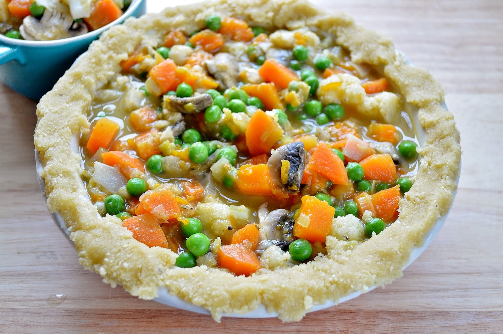 Vegetable Pot Pie GF SCD | Gluten Free SCD and Veggie