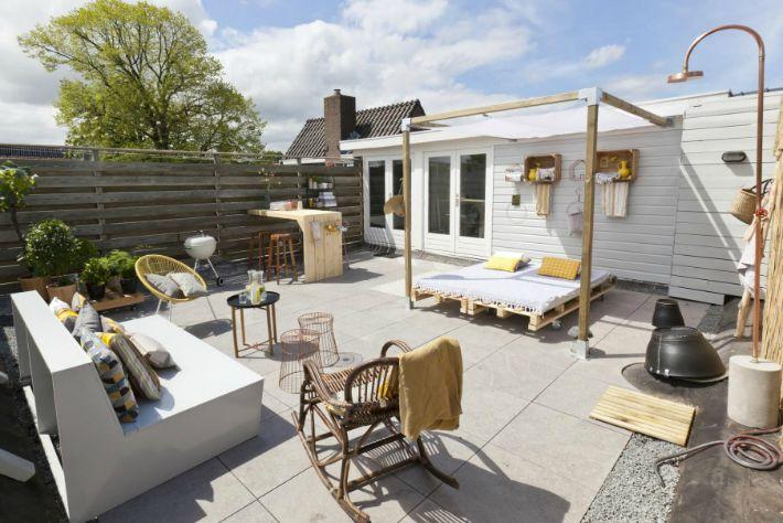 Una azotea con muchas ideas blog de decoraci n diy ideas low cost para decorar tu casa - Terrazas bonitas ...