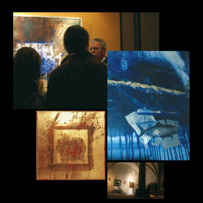 FORETS D'ENFANCE peintures-collages