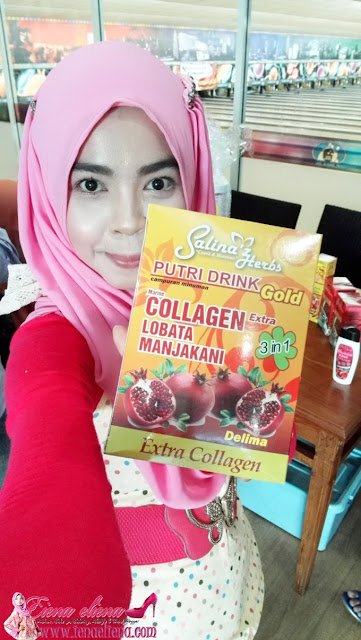 Putri Drink With Collagen Lobata Manjakani