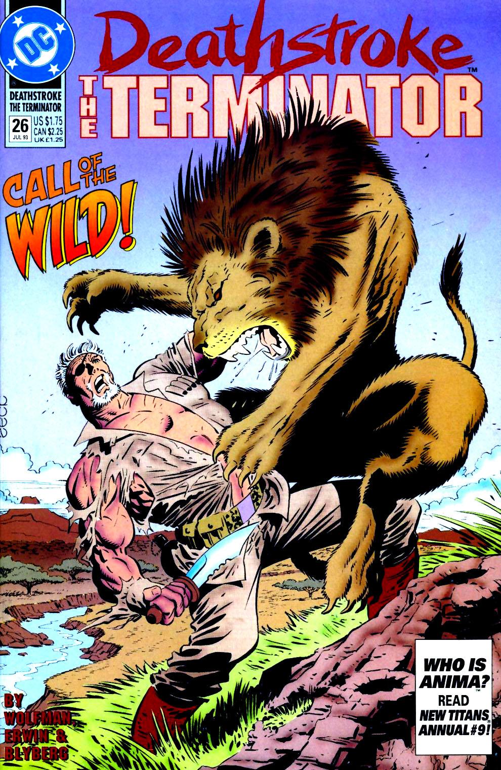 Deathstroke (1991) Issue #26 #31 - English 1