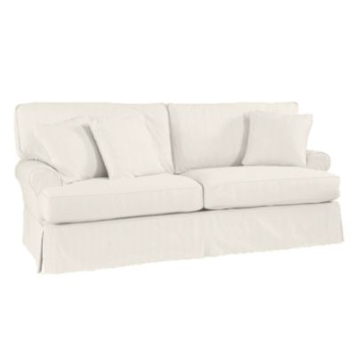 {I Like How The Rolled Arms Are Tucked Further Into The Sofa Vs. Flaring  Out As Much As Some Of The Others. The Two Cushion Seat Is Pretty.}