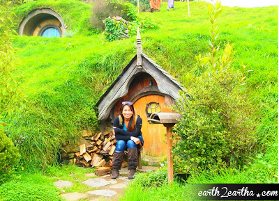 Yellow Hobbit Hole