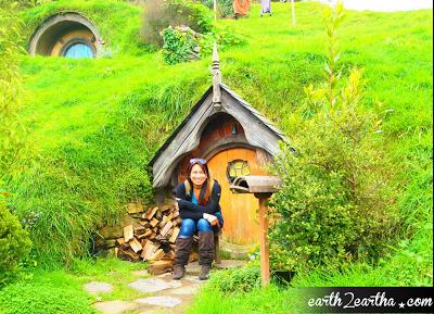 Yellow Hobbit Hole