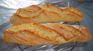 Cuisine robi nour for Baguettes de pain maison
