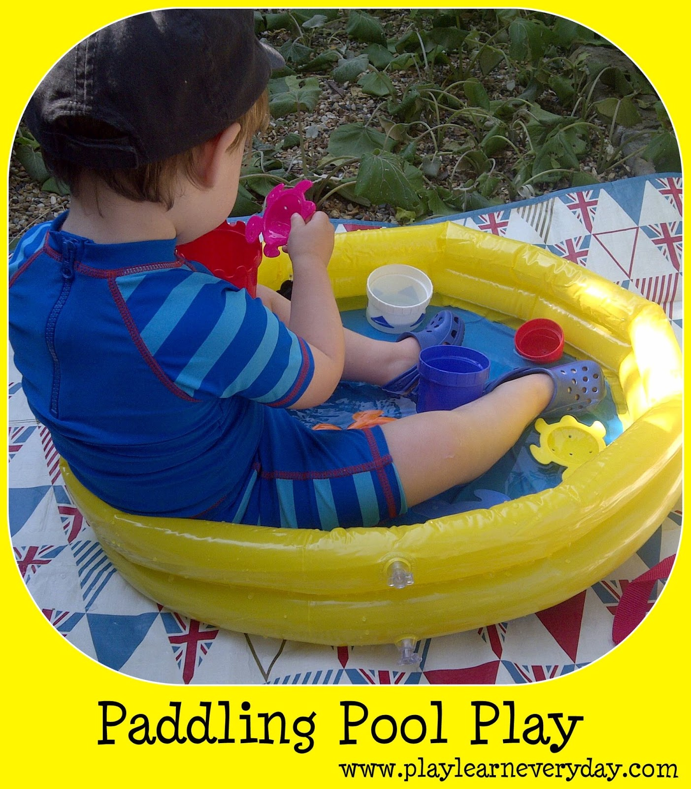 Paddling pool play play and learn every day for Small paddling pool