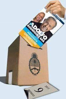 EL 9 ...votemos al ADOLFO!