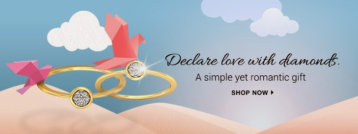 Declear Your Love with Diamonds