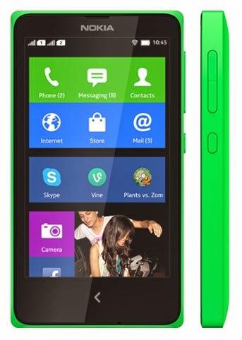 Spesifikasi dan Harga Nokia X Normandy | Hp Android Pertama Nokia