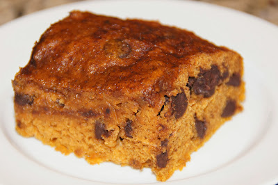 pumpkin chip bars - secret recipe club
