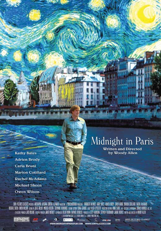 MIDNIGHT IN PARIS MOVIES