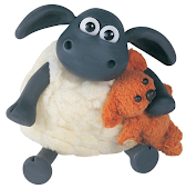 Shaun the Sheep as a baby