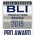 Ricoh losblad kleurenproductiesystemen winnen BLI PRO Awards