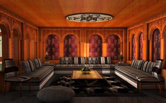 Décoration maroc: Salon marocain nouveau design